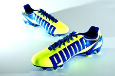 Puma evoSPEED 2.2 - Fluo Yellow. They might not be 1.2's but they are the next step down and look as good as gold!