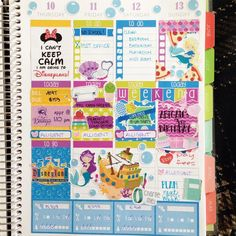 The end of my week in my #plumpaperplanner! Shops are tagged. by thestickycactus