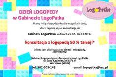 LogoPatka - Logopeda, Warszawa Wola
