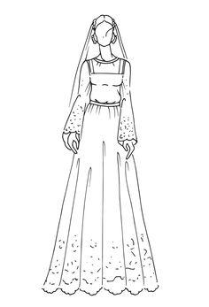 The most iconic royal wedding dresses of the last 100  years   CAROLINE - MONACO