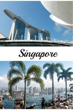 Singapore: the highest & largest infinity pool in the world #Singapore #travel / Singapur: der höchste & längste Infinity Pool der Welt #Singapur #Reise #Urlaub