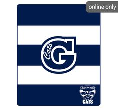 afl-team-logo-polar-fleece-printed-throw-geelong-cats