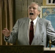 Dry eyes for Fred Phelps (best caption so far. this guy was the worst!!!!!)