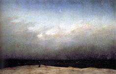 The Monk by the Sea by Casper David Friedrich
