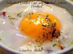 Sandra's Alaska Recipes: SANDRA'S INDIVIDUAL CODDLED EGGS with SMOKED SALMON BREAKFAST ~ [Click image for recipe]...