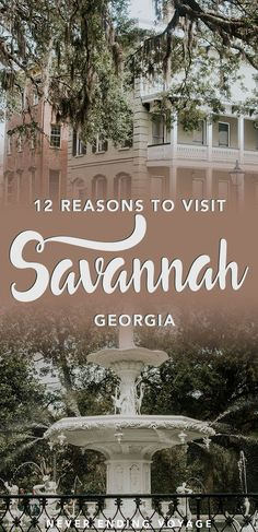 If you're planning to travel the US, then Savannah, Georgia has to be on your list! Read on for 12 things we absolutely loved about this Southern city. #savannah #georgia