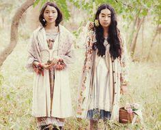 Japanese Street Fashion, Asian Fashion, Mori Mode, Mori Girl Fashion, Forest Girl, Romantic Outfit, Boho, Fashion Pictures, Street Style Women
