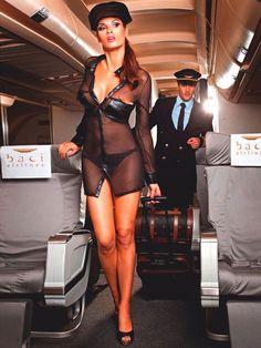 Flight Girls, Flight Attendant Life, Hot Lingerie, Girls Uniforms, Great Legs, Hot Outfits, Beautiful Legs, Elegant Woman, Short Skirts