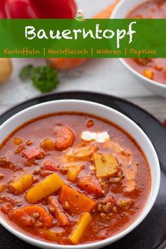 Bauerntopf für die ganze Familie - super einfach - Meine Stube Farm pot for the whole family - super easy - my room. A stew with minced meat, potatoes, peppers and carrots. Meat Recipes, Crockpot Recipes, Dinner Recipes, Healthy Recipes, Grilling Recipes, Cake Recipes, Carne Picada, Crunches, Smoothie Recipes