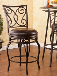 Hanover Swivel Counter Stool Chair by SEI  http://www.cccstores.com/hanover-swivel-counter-stool.html