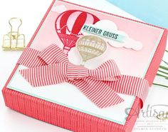 Gift Box with Stampin´ Up! Bundle Lift Me Up!