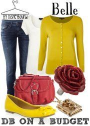 Belle (Beauty and the Beast) Inspired Outfit