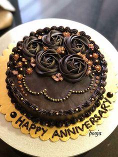 Happy Wedding Anniversary Wishes, Happy Anniversary Cakes, Anniversary Funny, Birthday Wishes, Birthday Cakes, Happy Birthday, Funny Easter Eggs, Buttercream Cake, No Bake Cake