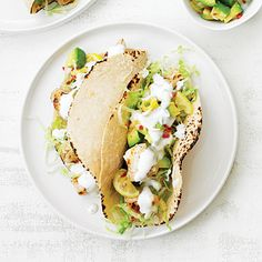 Golden State Fish Tacos - 4 Great New Fish Taco Recipes - Sunset