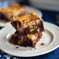 white chocolate cheesecake brownies :))
