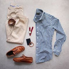 """Spring is natures way of saying """"Let's Party"""" @thepacman82 Shirt: @trumaker Chinos: @bonobos Shoes: @quoddymaine by dadthreads"""