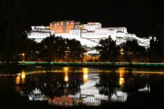 Potala Square Great View, Tibet, Park, Outdoor, Outdoors, Parks, Outdoor Games, The Great Outdoors