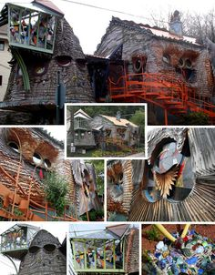 Amazing Architecture: 15 (More!) World's Weirdest Buildings | Urbanist  Mushroom House in Cincinnatti, Ohio