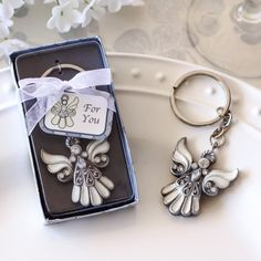 Angel Keychain Favor by Beau-coup