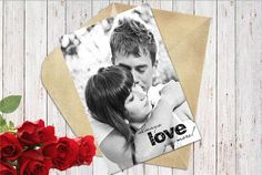 Personalized Love Photo Card.