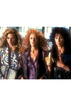 Witches of Eastwick...LOVE this movie!  Michelle, Susan, and Cher