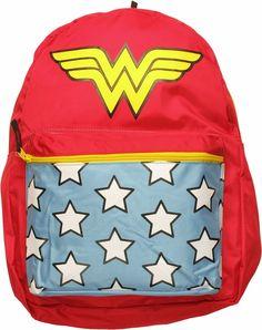 2616b211181 Wonder Woman Suit Backpack #backtoschool Blauwe Zakken, Pakken Voor Vrouwen