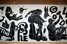 Parra, Weirded Out - 2 Murals Street Art, Mural Art, Wall Mural, Painting Inspiration, Art Inspo, Bud, Graffiti, Inuit Art, Museum Of Modern Art