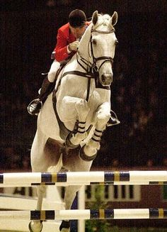 Calvaro - Willi Melliger I absolutely loved this combo. That horse could soar over the jumps.
