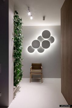 Vertical Garden, Wall Art with Lighting