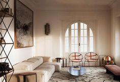 A Roma un appartamento anni 20 ripensato in chiave contemporanea