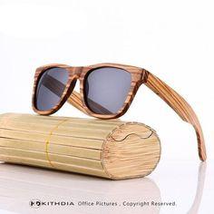 8881c65f16122 Real Zebra Wood Sunglasses Polarized Handmade Bamboo Men Gafas Oculos De Sol  Madera