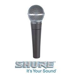Shure SM58 Dynamic Handheld Microphone SM58-LC