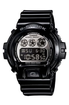 Casio 'G-Shock Mirror Metallic' Digital Watch available at #Nordstrom