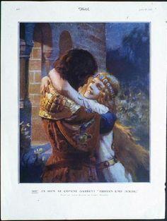 Gaston Bussière: Tristan et Isolde