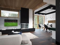 Wnętrze HG-I22 CE House Layout Plans, House Layouts, Flat Screen, Design, Homes, Drawing Rooms, Blood Plasma, Flat Screen Display, House Floor Plans