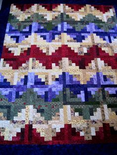 Barbara designed and taught this bargello class for several years at Judy's Quilt and Sew in Hampshire. She shepherded many queen size quil...