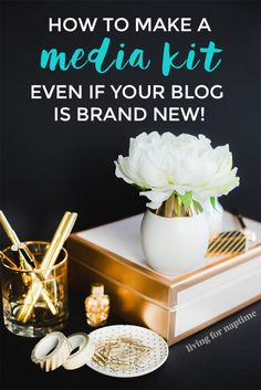 Want a media kit for your blog, but not sure what to include? Check out this video tutorial on how to make one in Canva + what stats you should include.