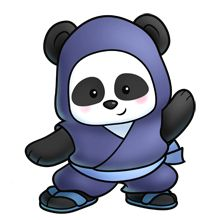 Ninja panda!