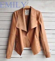 Cheap jacket designer, Buy Quality jacket collar directly from China jacket yellow Suppliers: 	Product introduction:	              2015 Women new  Slim PU leather jacket