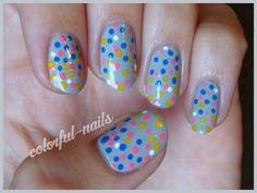 Pointillism nails