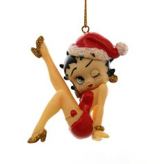 Leg Up Betty Boop Ornament