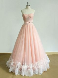 Ball Gown Tulle Sweetheart with Sashes / Ribbons Floor-length Formal Dresses, #formaldressaustralia, #formal, #dresses, #luminous, #flirty, #simple