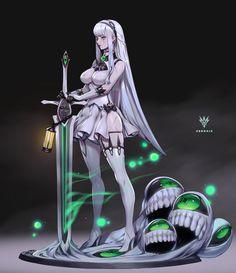 Fantasy Character Design, Character Design Inspiration, Character Art, Character Reference, Fantasy Pictures, Cool Pictures, Fantasy Characters, Female Characters, Black Bullet