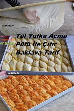 Turkish Baklava, Baklava Recipe, Filo Pastry, Turkish Recipes, Food Preparation, Hot Dog Buns, Food And Drink, Cooking Recipes, Yummy Food