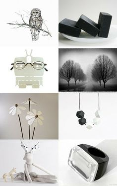 Black and White by Amy J. on Etsy--Pinned with TreasuryPin.com