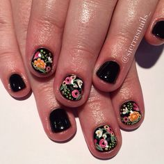 For when my nails get short again bcuz it certain will happen (stop the nail bit… – Fancy Nails Fancy Nails, Cute Nails, Pretty Nails, My Nails, Nagellack Trends, Manicure Y Pedicure, Hair Skin Nails, Cool Nail Designs, Art Designs
