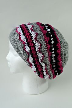 Paste is finished on Ravelry. Crochet For Boys, Love Crochet, Crochet Gifts, Crochet Hooks, Knit Crochet, Crochet Beanie Hat, Slouchy Beanie, Knitted Hats, Mad Cap
