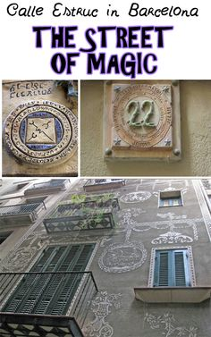 Calle Estruc in Barcelona is known for being the street of astrologers and wizards: if you are interested in magic you should absolutely visit it! Let's find out more in our blog: click on the image!