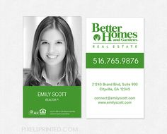 Beau Better Homes And Gardens Real Estate Business Cards