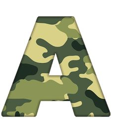 Fonte Alphabet, Alphabet And Numbers, Mart, Free, Camouflage, Hush Hush, Stripes, Party, Seasons